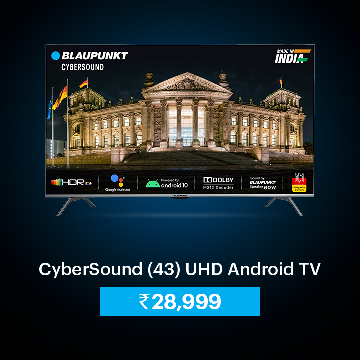 43 UHD Android TV