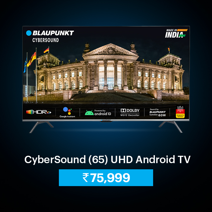 65 UHD Android TV